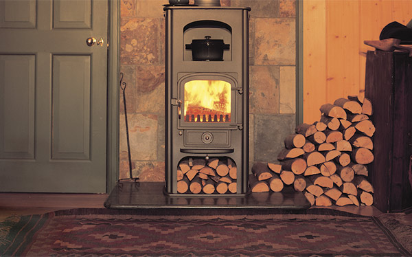 Clearview Pioneer wood-burning stove
