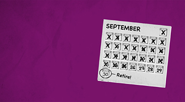 Countdown to drawing your pension