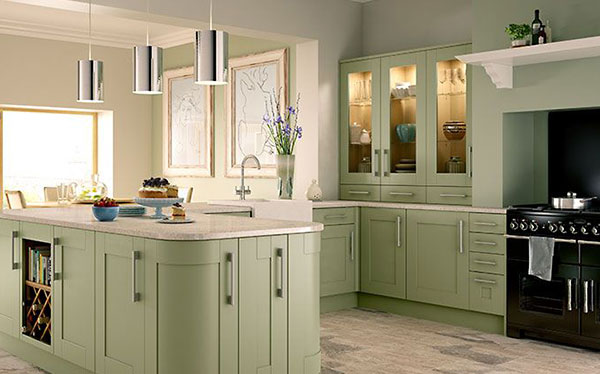 Country kitchen - Wickes shaker kitchen
