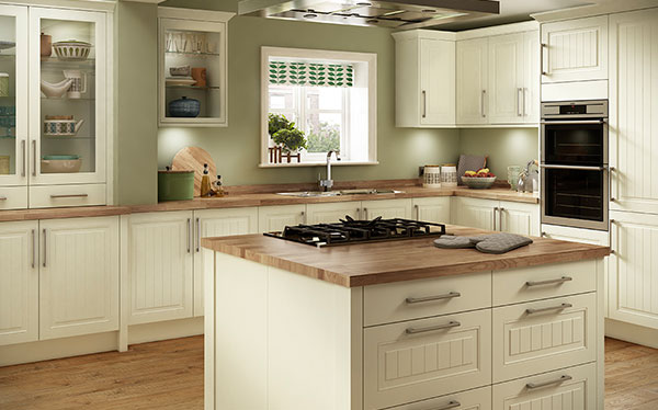 Country kitchen Benchmarx kitchen worktop