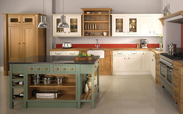 Country kitchen John Lewis Windsory oak kitchen