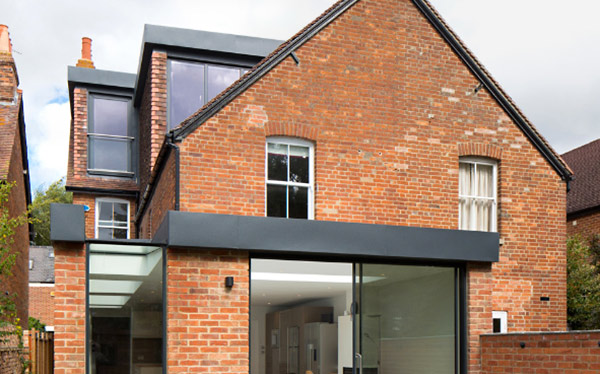 L-shaped dormer loft conversion exterior - Holland and Green 2