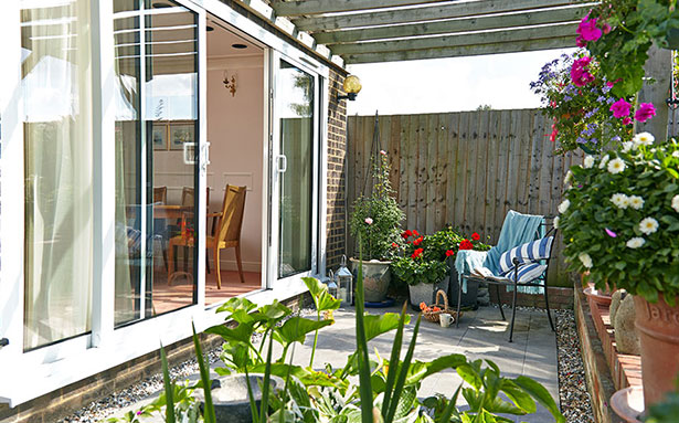 Double glazed patio sliding doors