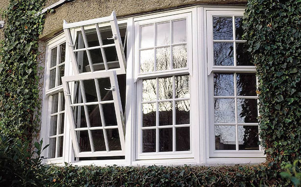 Dual-turn double glazed windows