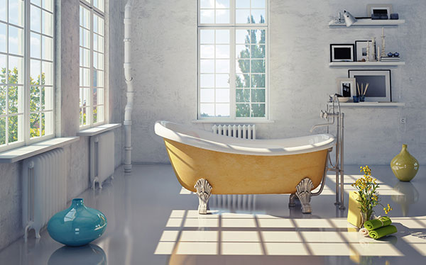 freestanding clawfoot bath - Bathroom Designs Uk