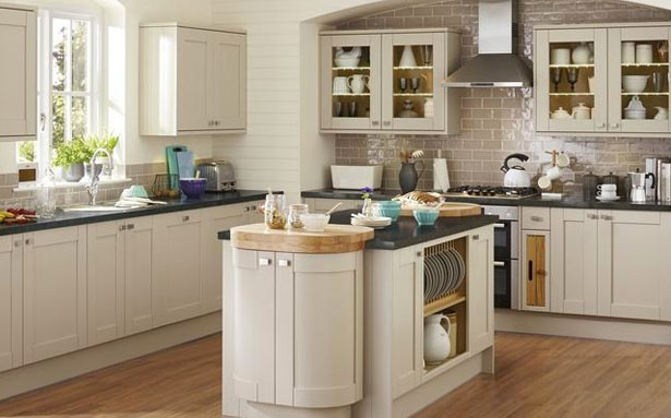 Howdens Joinery Tewkesbury Stone Kitchen
