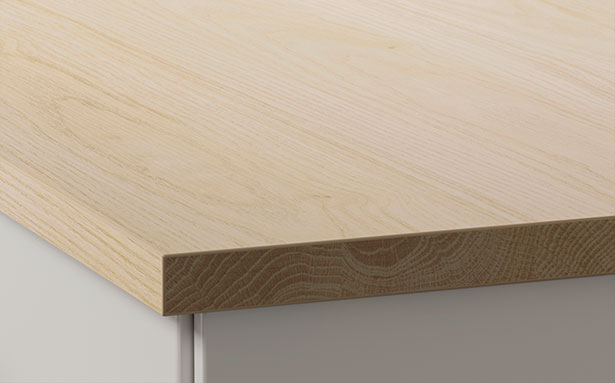 Ikea Ekbacken light oak effect worktop