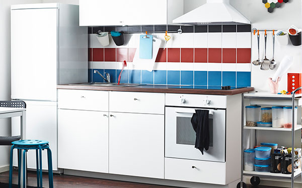 ikea haggeby white fitted kitchen - Ikea Kitchen Reviews