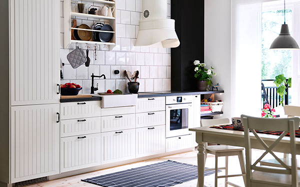 Ikea Korktorp Fitted Kitchen