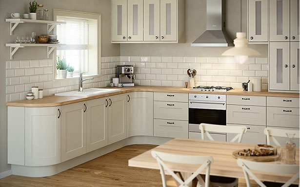 Kitchen layouts B&Q L shape