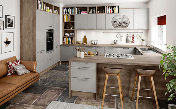 Kitchen layouts Magnet G shape
