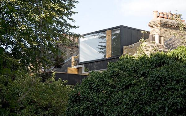 Modern zinc-clad dormer loft conversion - exterior