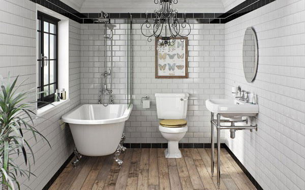 Victoria Plum Dulwich bathroom by The Bath Co