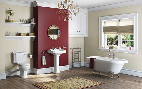 Victoria Plum Winchester bathroom
