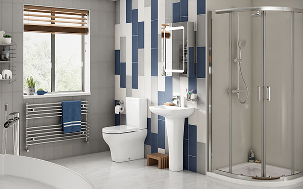Wickes Bellante bathroom