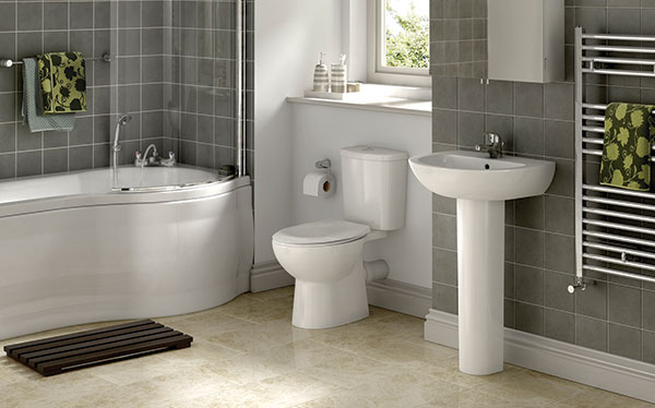 Wickes Newport bathroom