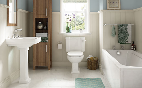 Wickes Positano bathroom