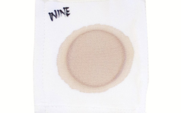 Wine stain for a laundry detergent test