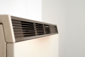 electric storage heater detail