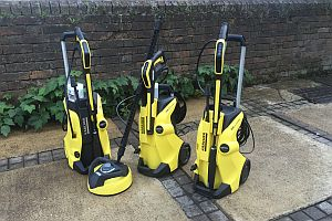 which tries out karcher 39 s full control range of pressure. Black Bedroom Furniture Sets. Home Design Ideas