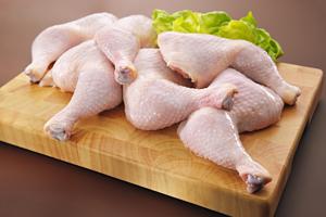 Raw chicken