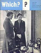 First ever edition of Which? magazine