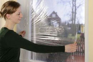 Draught proof windows to keep heat inside