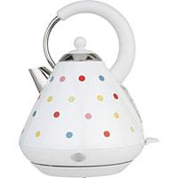 Argos Cookworks polka dot kettle