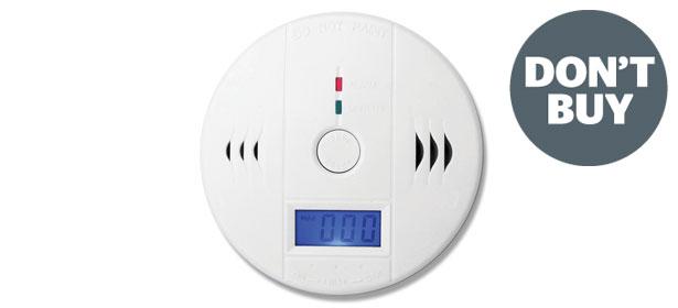 Don't Buy carbon monoxide detectors - Which?