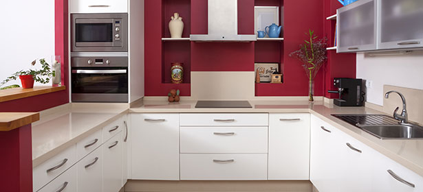 Kitchen planning which for Long kitchen wall units