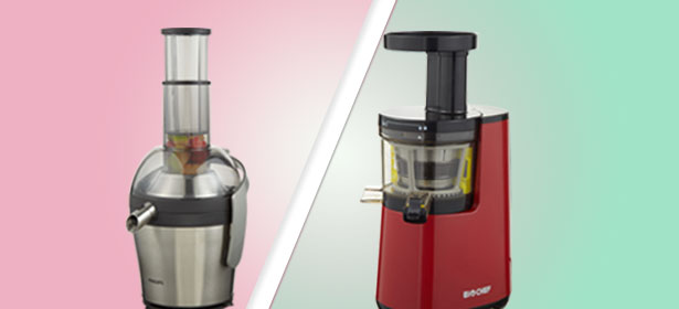 Slow Juicing Vs Fast Juicing : Slow juicers vs fast juicers - Which?